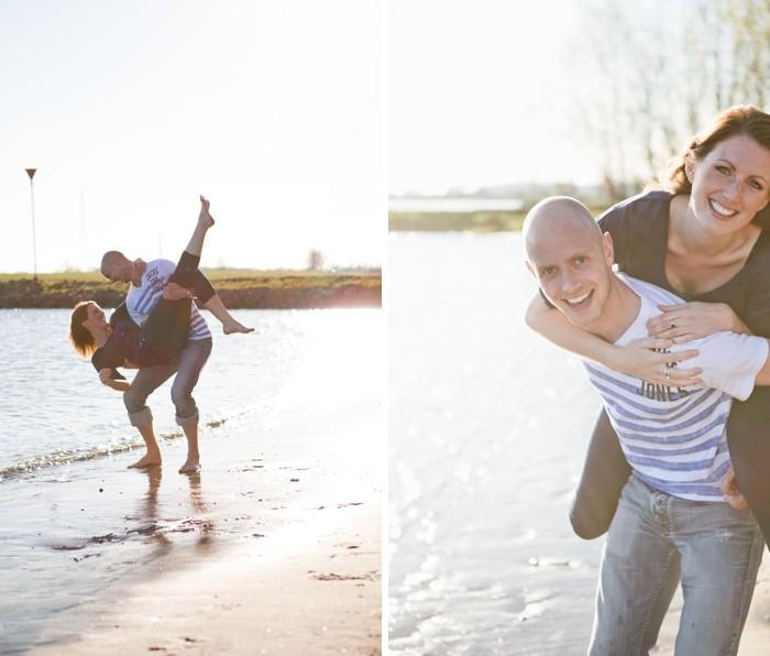 Couple shoot aan de Rijn in Wageningen | PW & Maaike