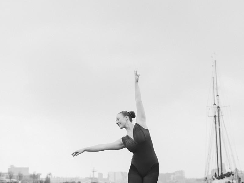 Dans shoot op de NDSM Werf | Liza