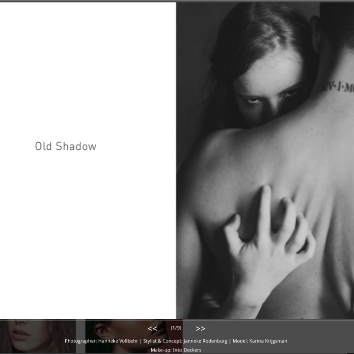 Fashion Editorial See.7 Magazine | Old Shadow