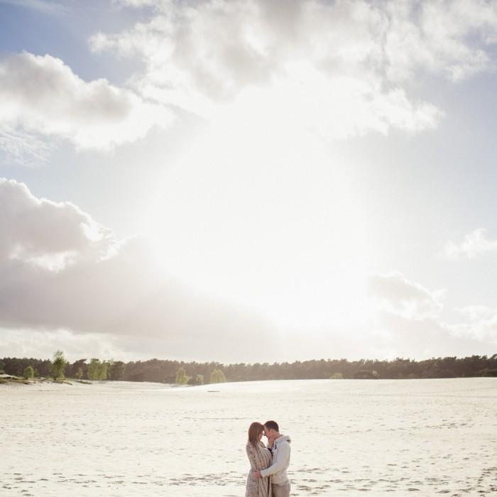 Engagement shoot Soesterduinen | Elke + Benjamin