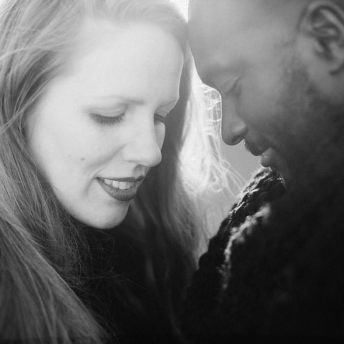 Loveshoot Harderwijk met Winterzon | Modou + Marieke