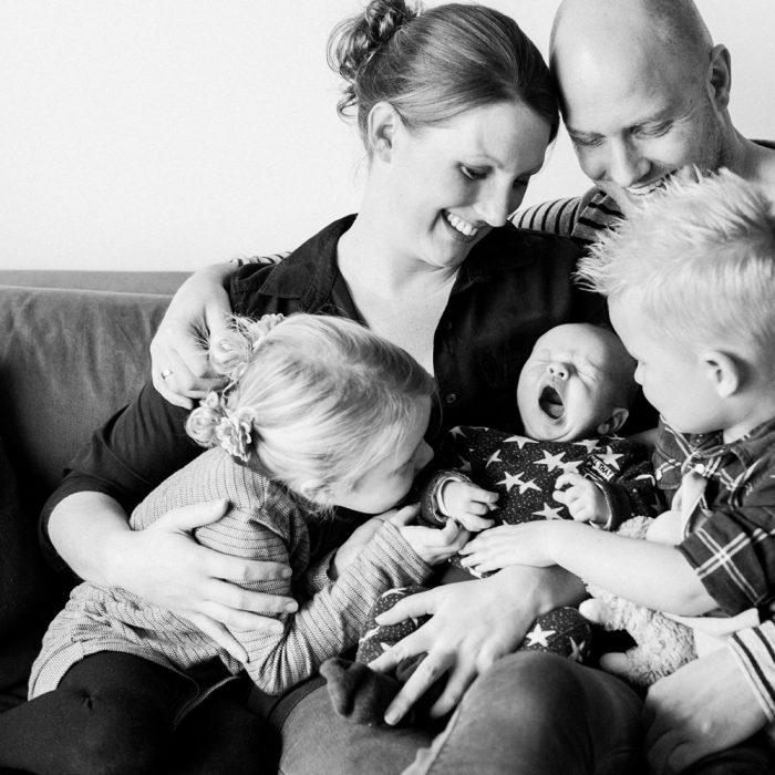 Lifestyle Newborn Fotoshoot Ede