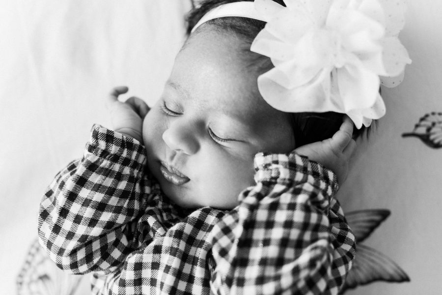Newborn Shoot Utrecht - Nyah