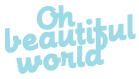 Oh Beautiful World | Wedding &amp; Lifestyle Photography logo