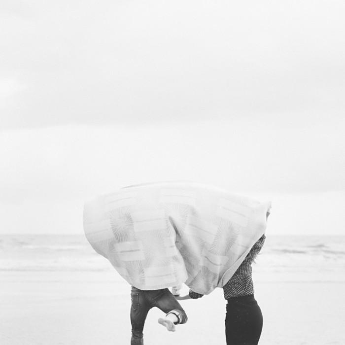 Verlovingsshoot op het strand | Christian & Naomi