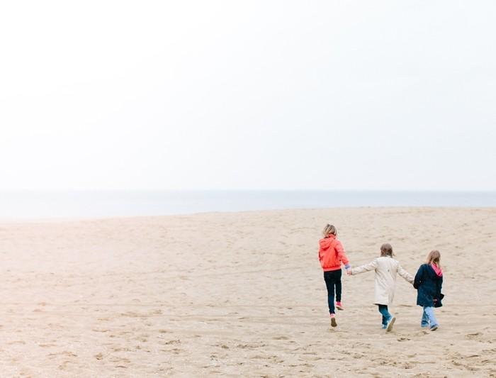 Gezinsshoot op het strand van Scheveningen