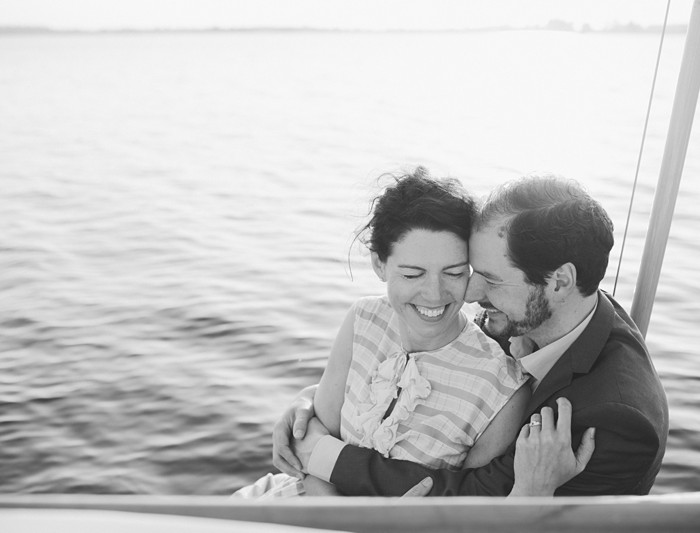 Engagement shoot Matthijs & Patricia | Sailing at sunset