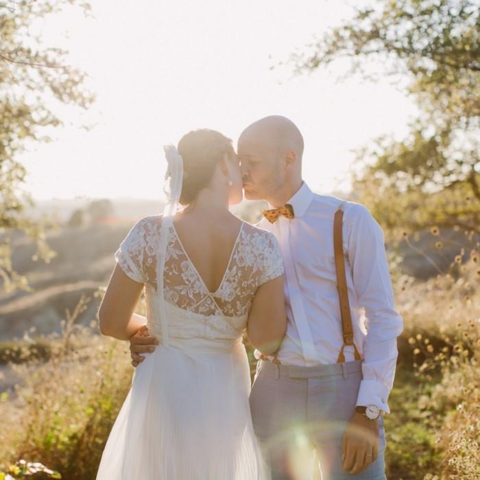 Tuscany, Italy Wedding ~ Sant' Anna in Camprena ~ Axel & Laura