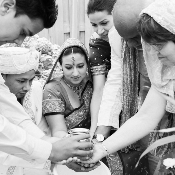 Backyard Hindu Wedding Ceremony - The Netherlands