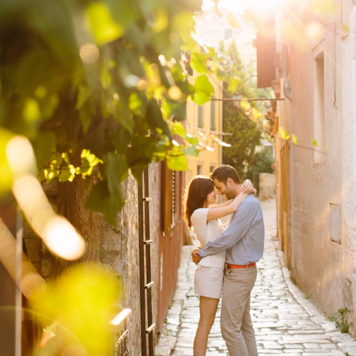 Engagement shoot in Rovinj, Croatia