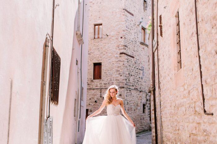 Trouwen in Italië: Pieve Torina   Robin + Malou