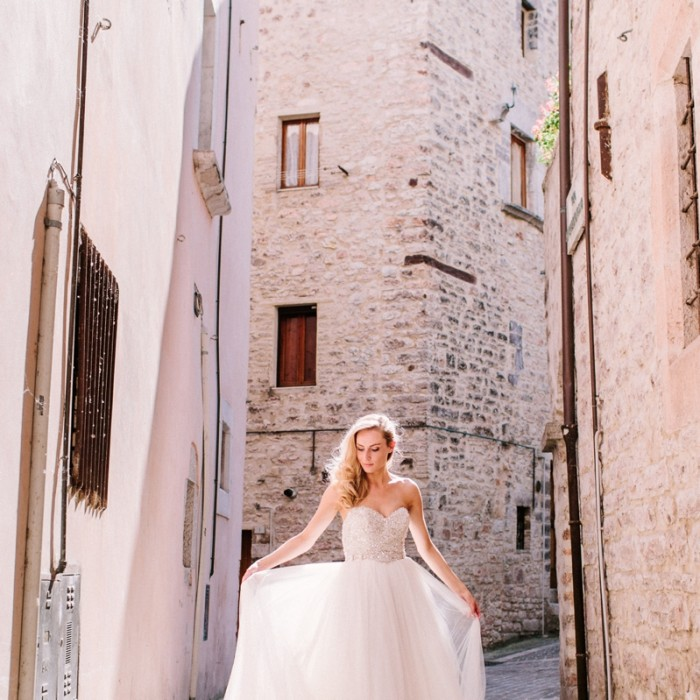 Trouwen in Italië: Pieve Torina | Robin + Malou