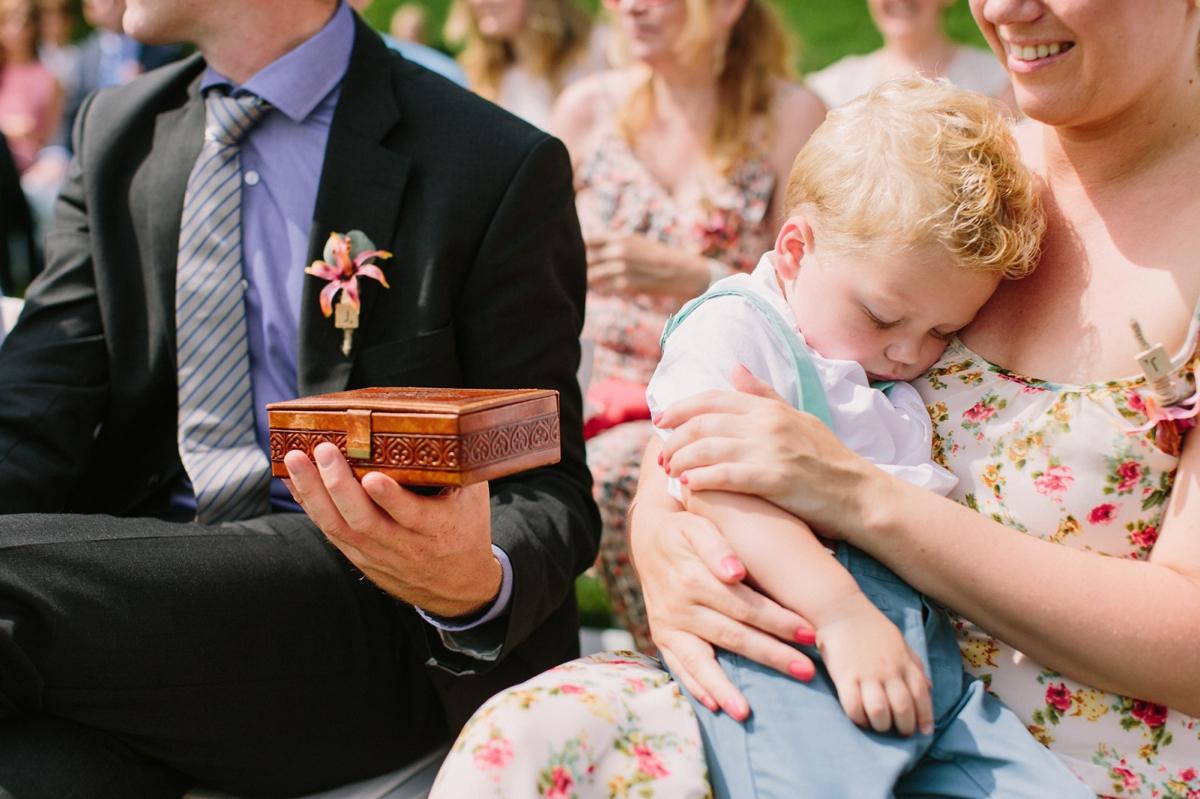 Ringen dragen bruiloft