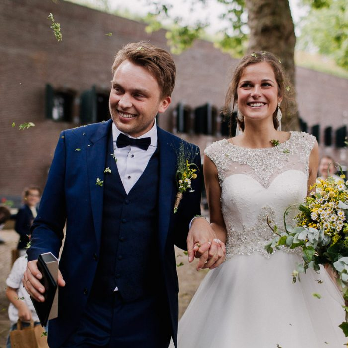Preview Antonie + Margriet - Bruiloft Fort Altena