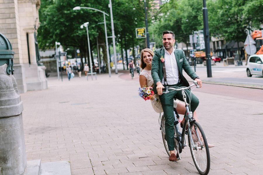 Bruidsfotografie Rotterdam - Stadhuis en Vroesenpaviljoen