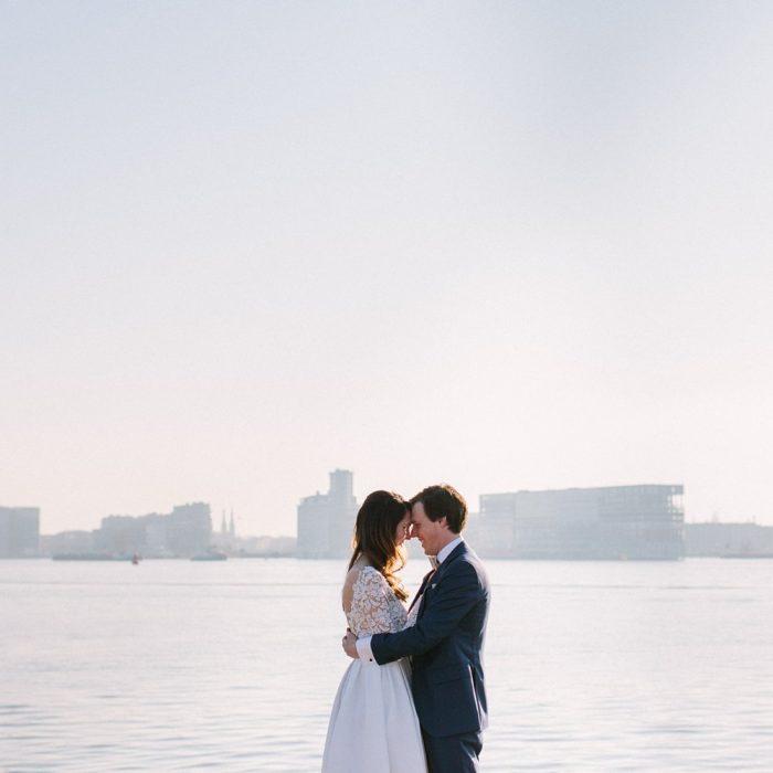 Trouwfotograaf Amsterdam - Winter bruiloft PLLEK op de NDSM werf